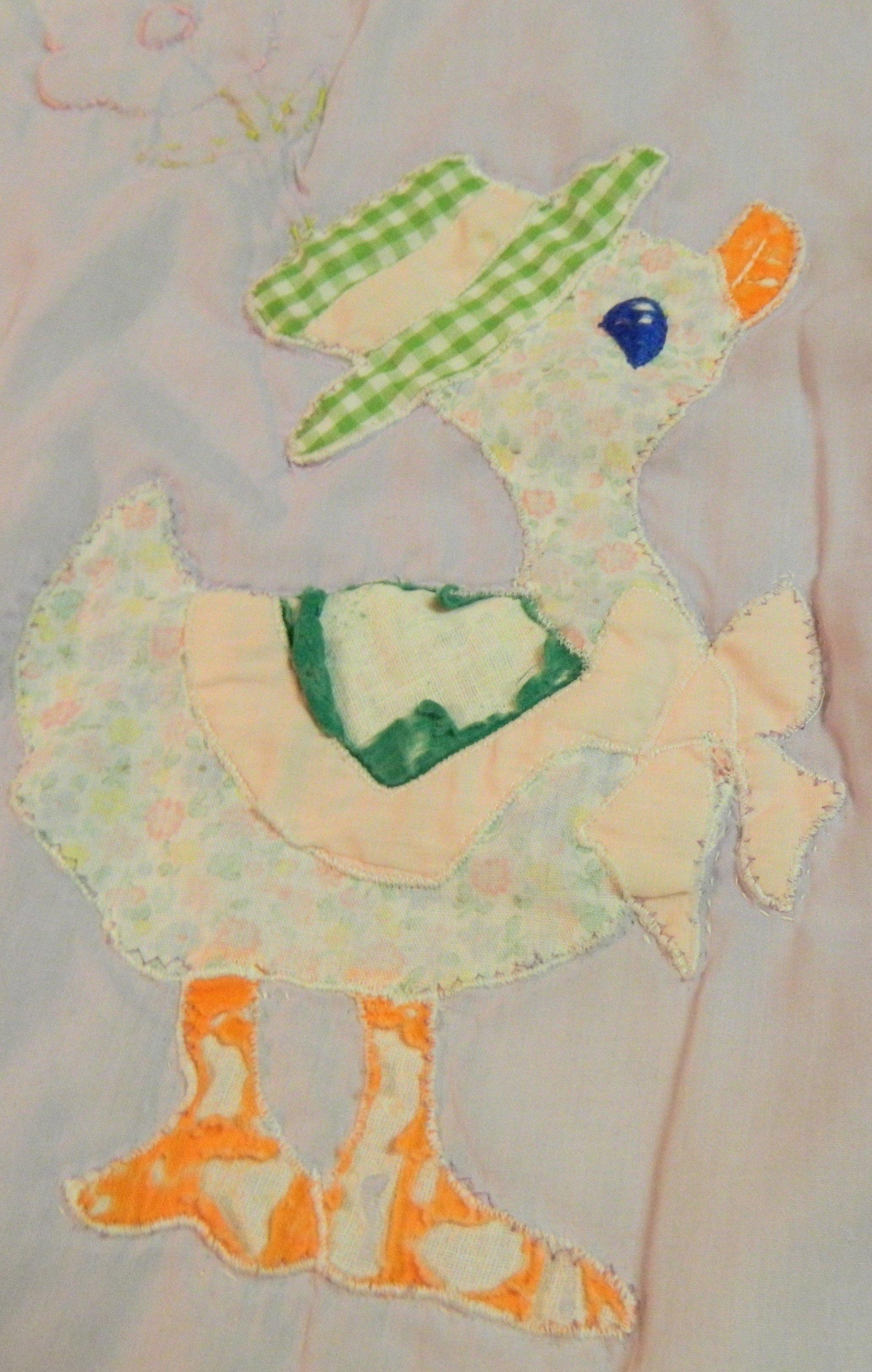 Quack, Quack: My Baby Quilt