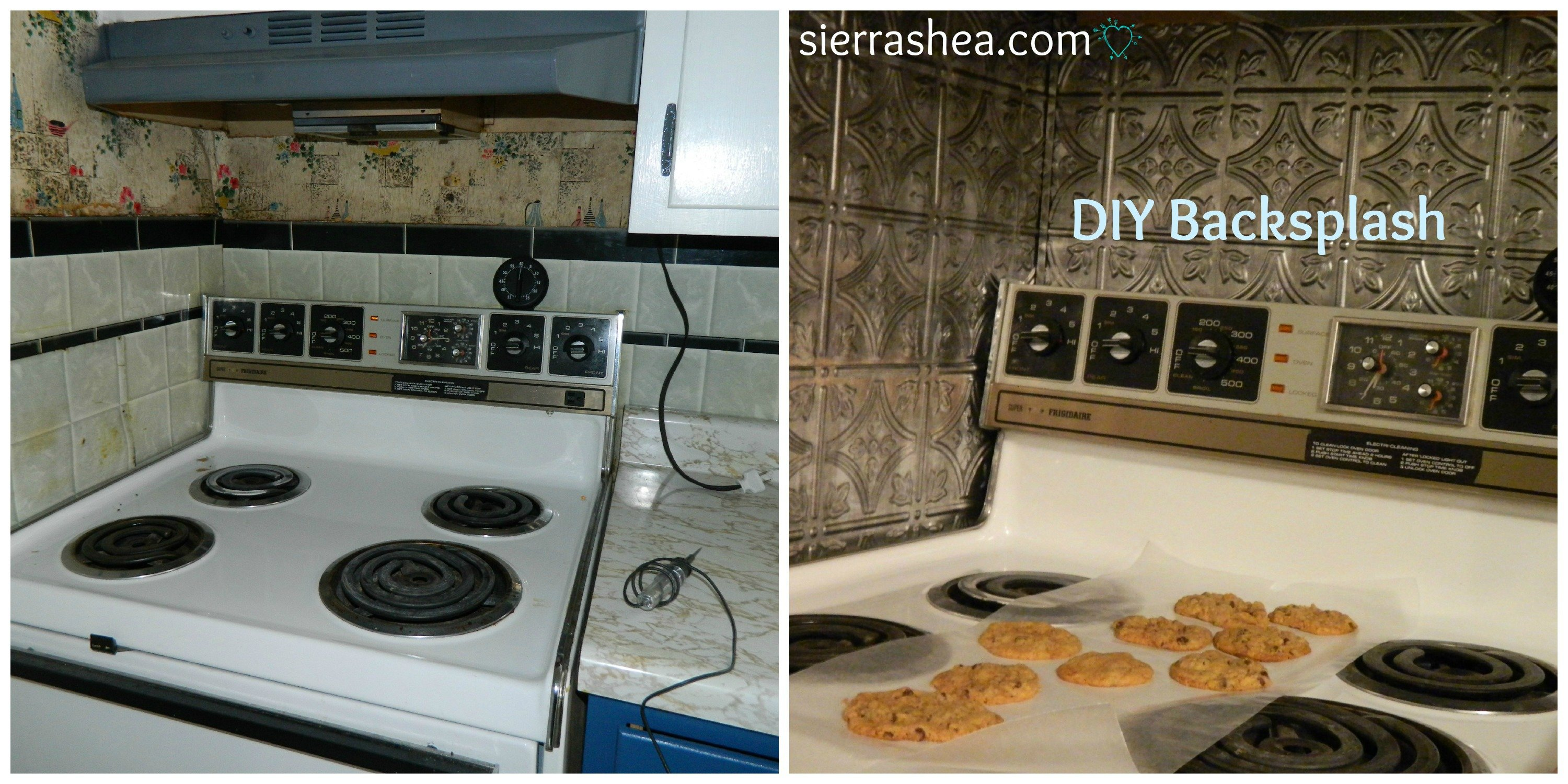DIY: 5 Steps to Kitchen Backsplash – No Grout Involved