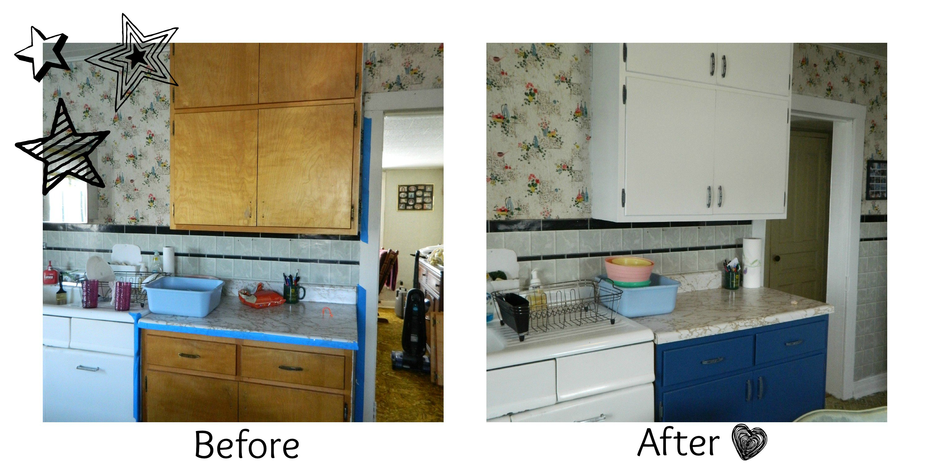 DIY: 10 Steps to Painted Kitchen Cabinets