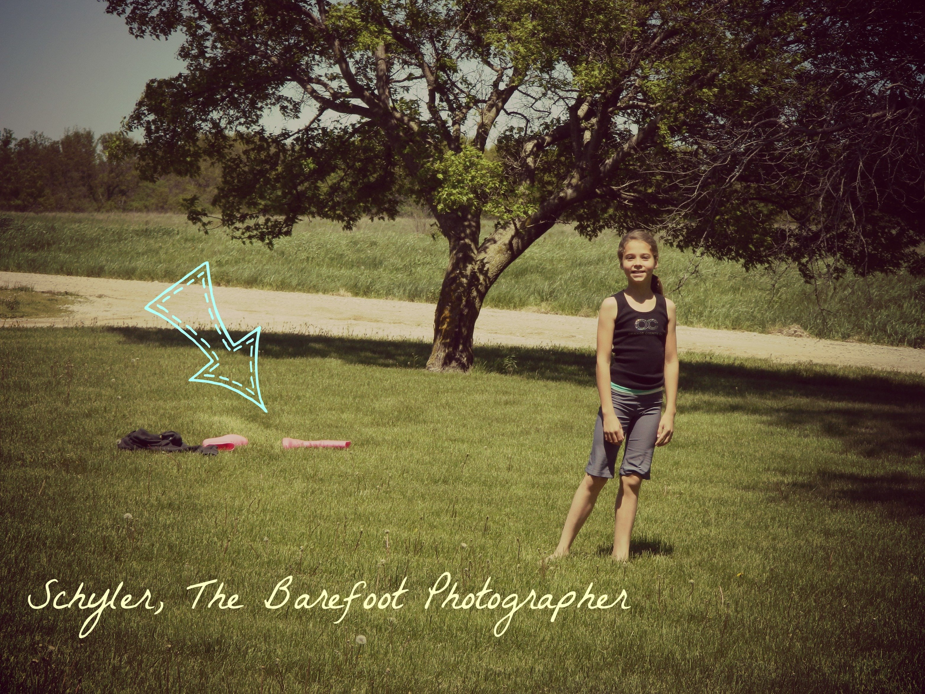 Guest Blogger: Schyler, barefoot photographer