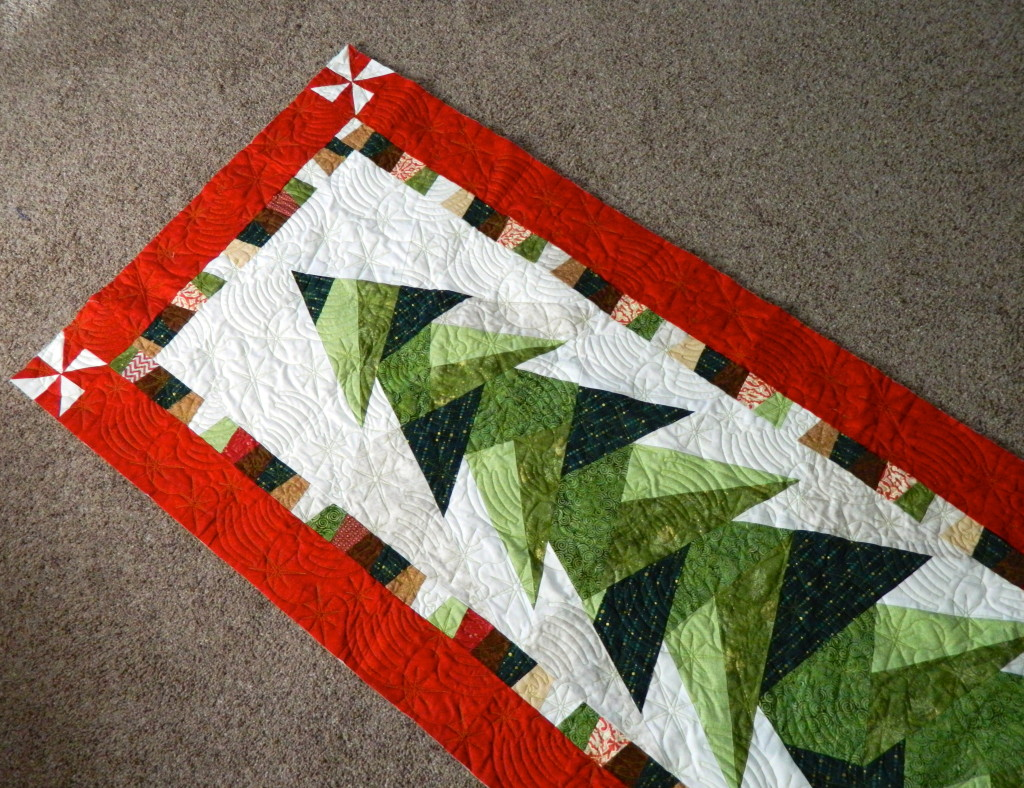 Tall Trim The Tree Wall Hanging Finished