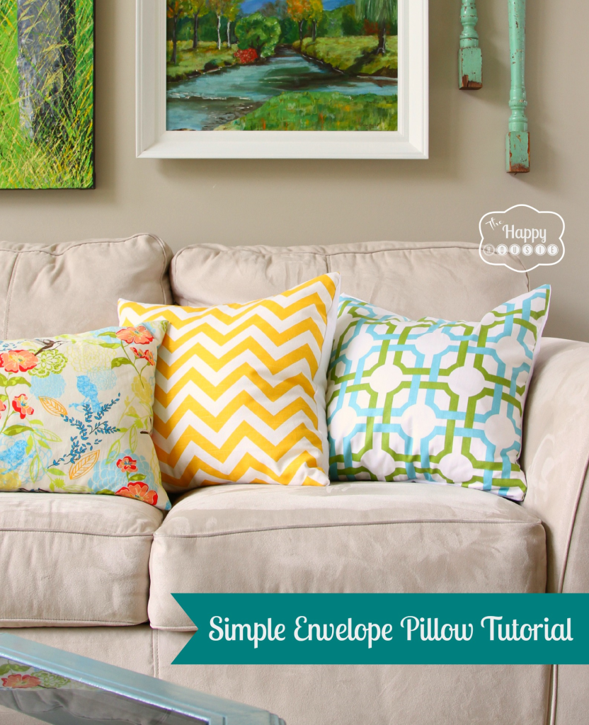 Diy Throw Pillow Instructions : Square Throw Pillow Patterns: DIY tutorial