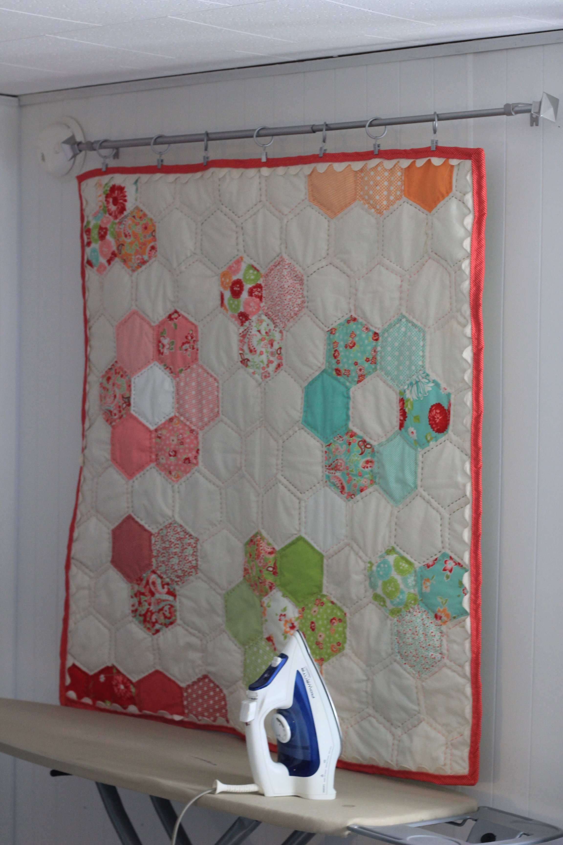Finishing a Quilt with Machine Binding