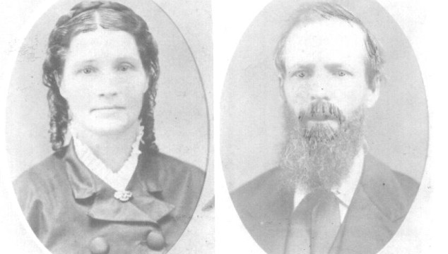 How I ended up with a photo of Amos & Alzina Whiting