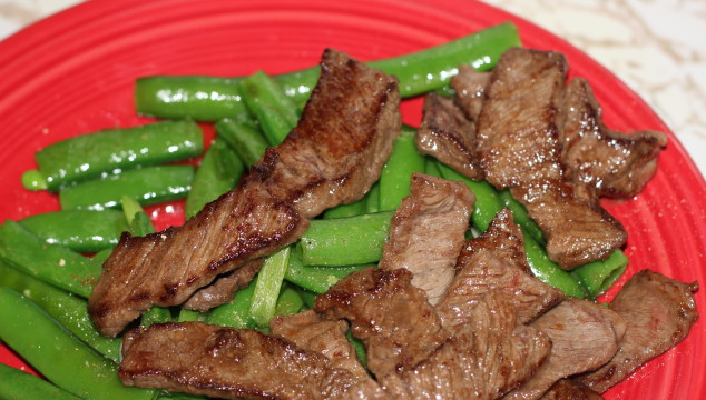 The Pioneer Woman's Beef with Snow Peas