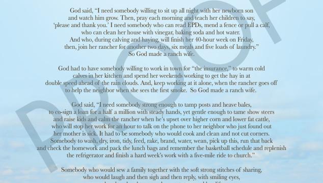 Column: So God Made a Ranch Wife