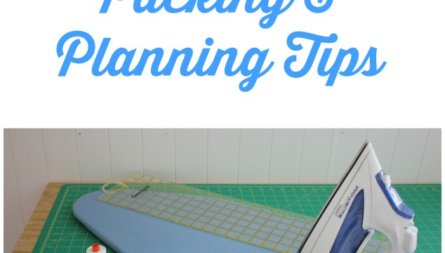 Sewing Retreat Packing & Planning Tips