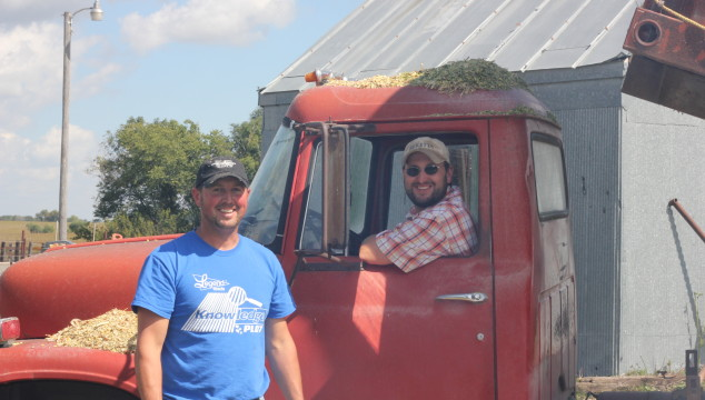 Farmin' Friday: Cutting Silage