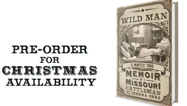 "Pre-Order ""Wild Man"" for Christmas Availability"