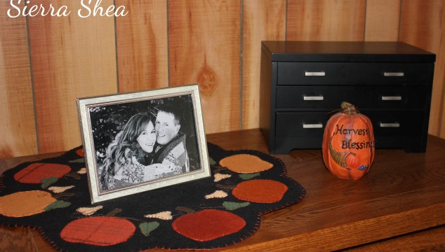 Fall Pumpkin Table Mat Applique Project – Finished!