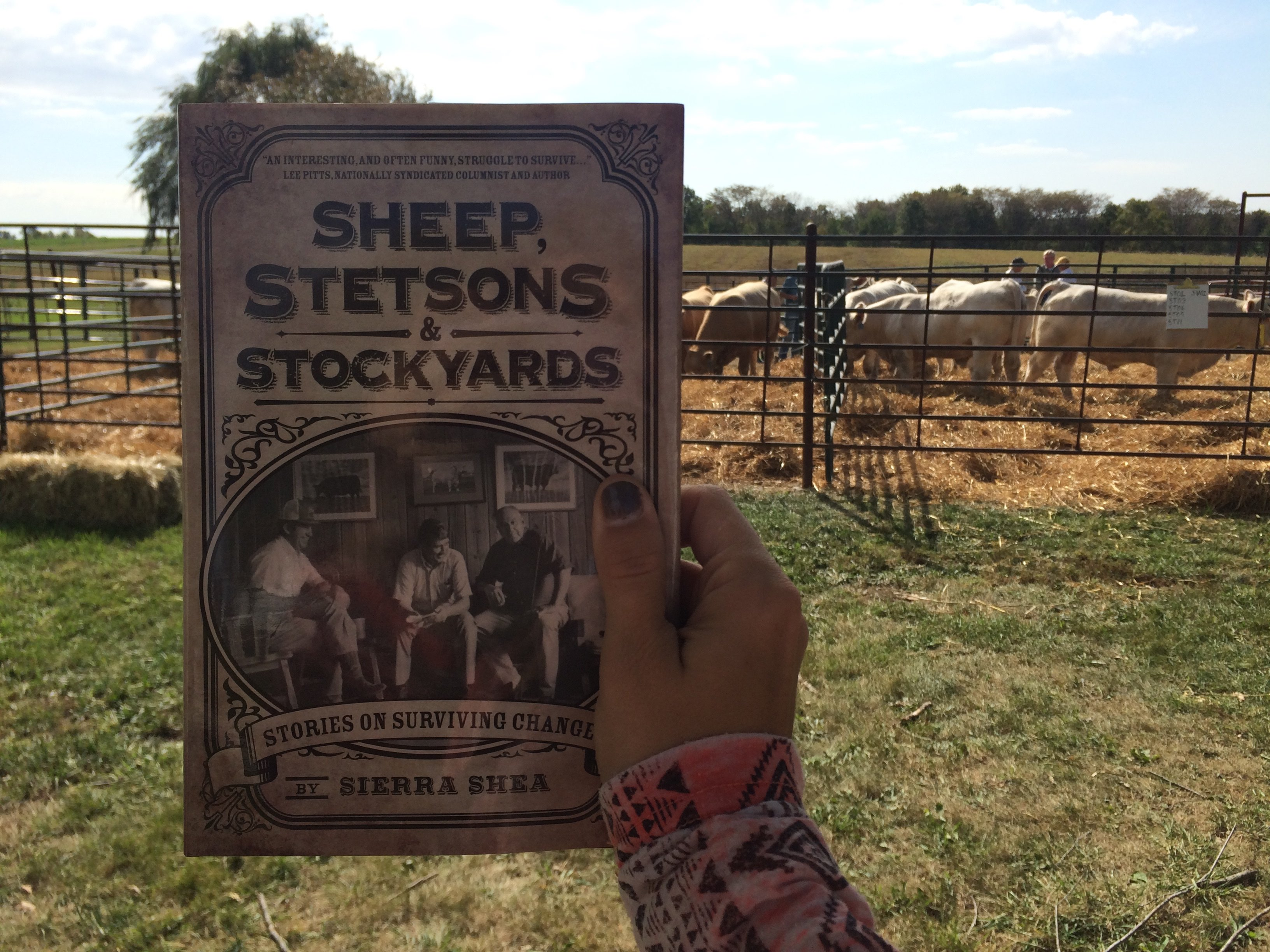 Last round :: Advance Praise for Sheep, Stetsons & Stockyards