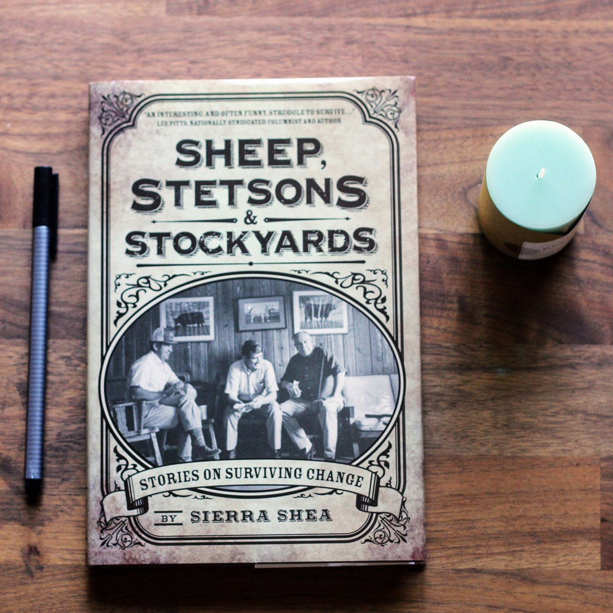 Sheep, Stetsons & Stockyards: Excerpt from the book